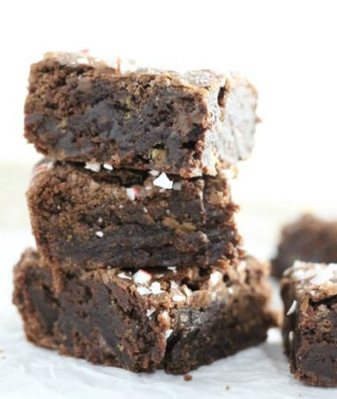 Peppermint Candy Cane Brownie Recipe