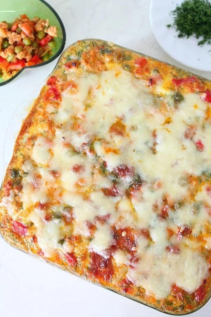 Hash Brown Lasagna