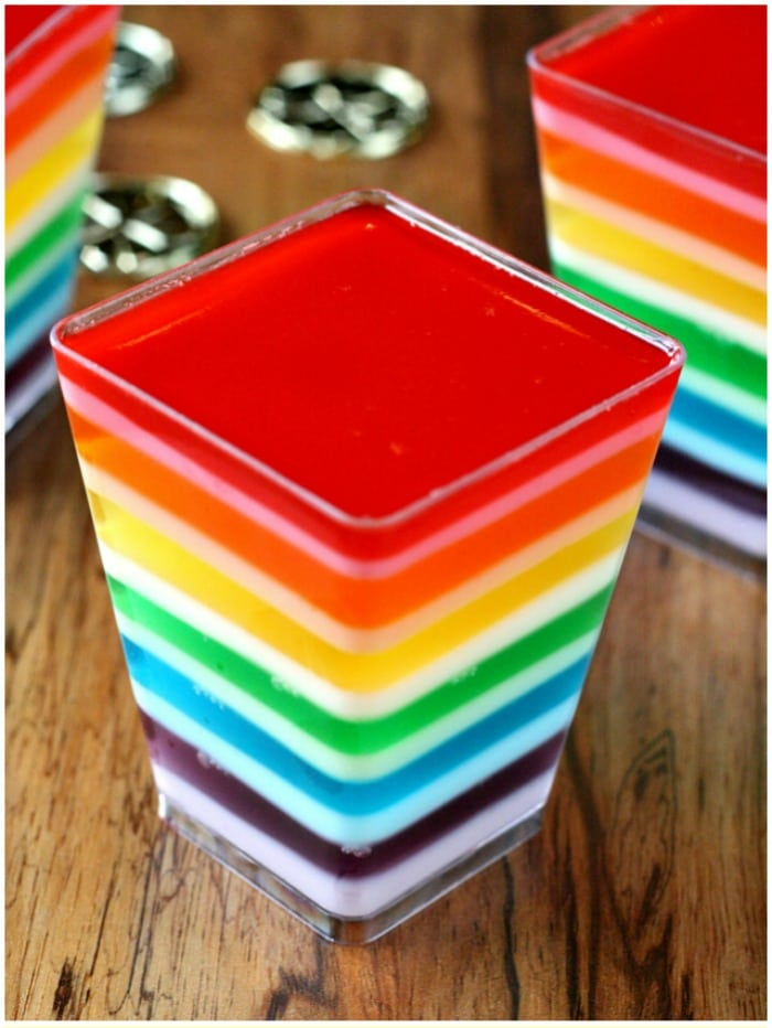 The Best Rainbow Recipes for your Rainbow Party