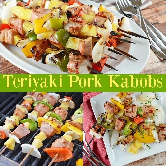 Teriyaki Pork Kabobs