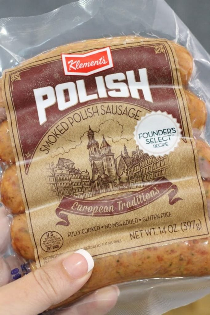 precooked polish sausage for sausage and peppers recipe