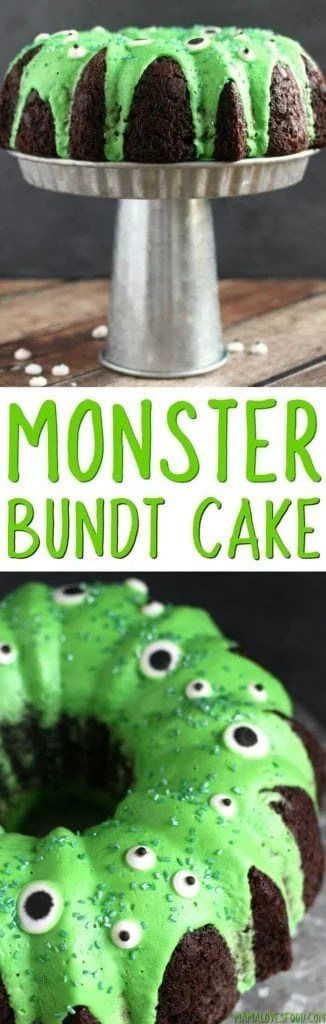 Easy Monster Bundt Cake Recipe