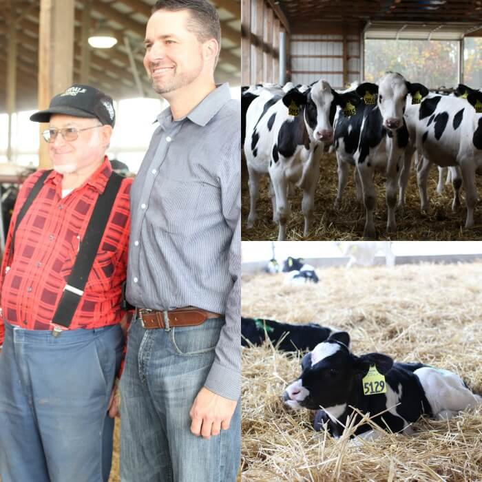 VISITING CLAREDALE DAIRY FARM IN OHIO