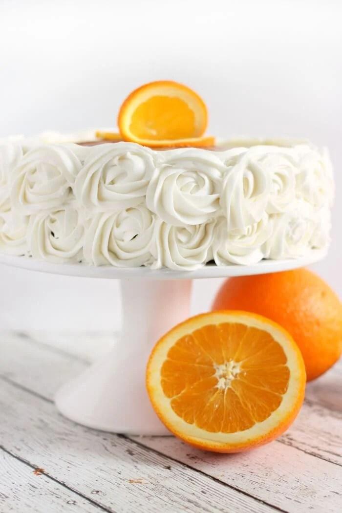ORANGE CAKE WITH WHOLE ORANGE