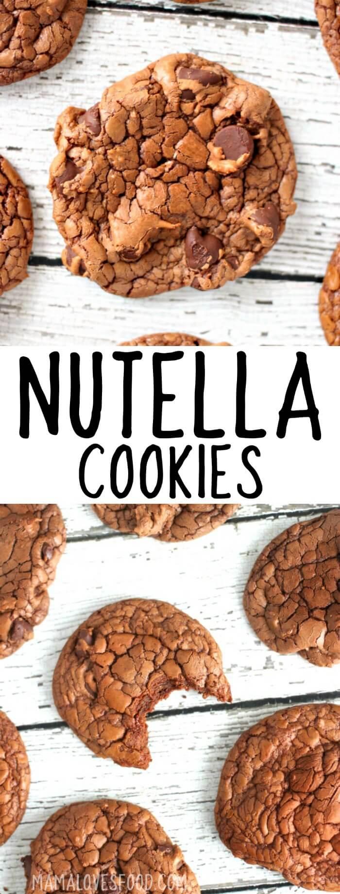 EASY NUTELLA COOKIES