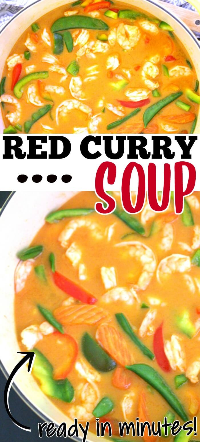 EASY RED CURRY SOUP