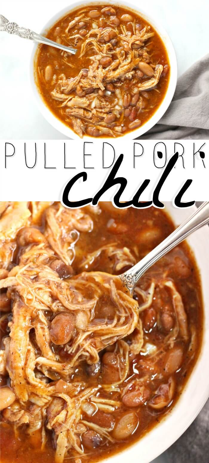 EASY PULLED PORK CHILI RECIPE