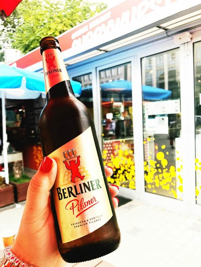 DRINK LOCAL BEER BERLIN GERMANY