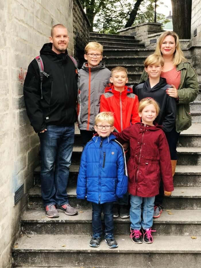 FAMILY PICTURE IN TALLINN