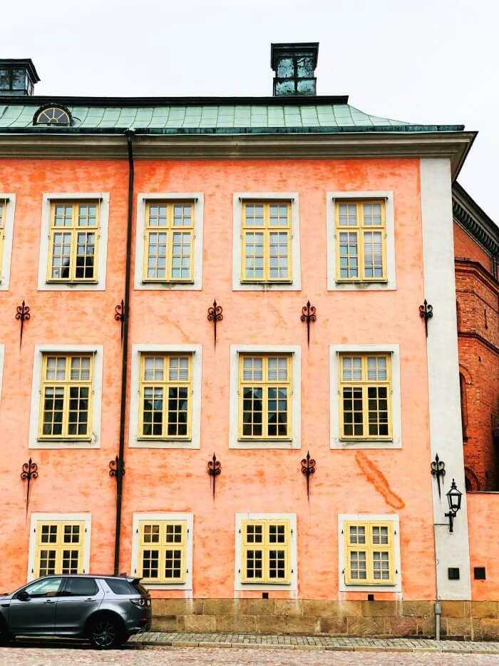 ROYAL BUILDING IN STOCKHOLM