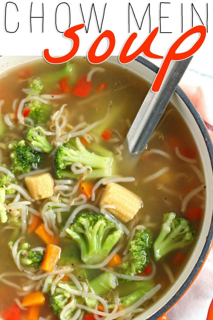 CHOW MEIN SOUP