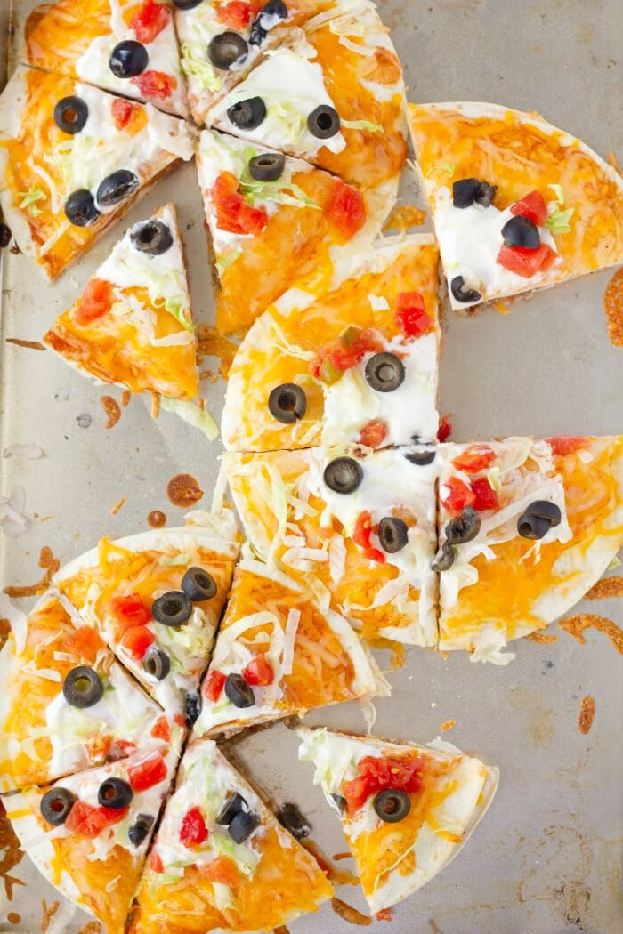 TACO BELL MEXICAN PIZZA RECIPES