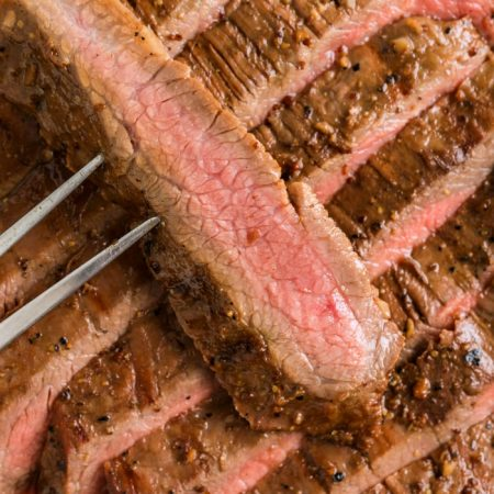 HOW TO GRILL FLANK STEAK