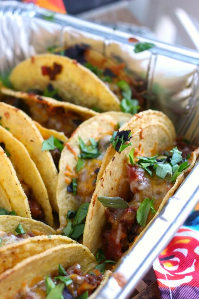 HOW TO BAKE TACOS IN THE OVEN