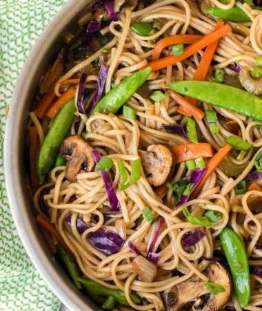 VEGETABLE CHOW MEIN RECIPE