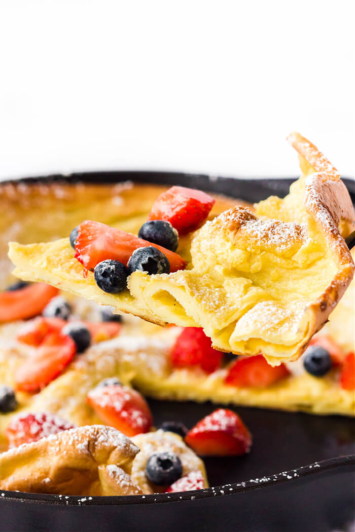 DUTCH BABY WITH FRUIT
