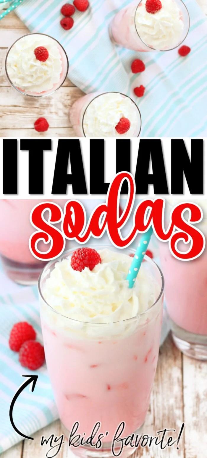HOMEMADE ITALIAN SODA