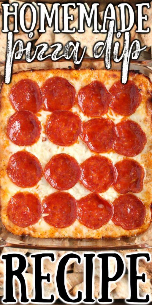 HOMEMADE PEPPERONI PIZZA DIP