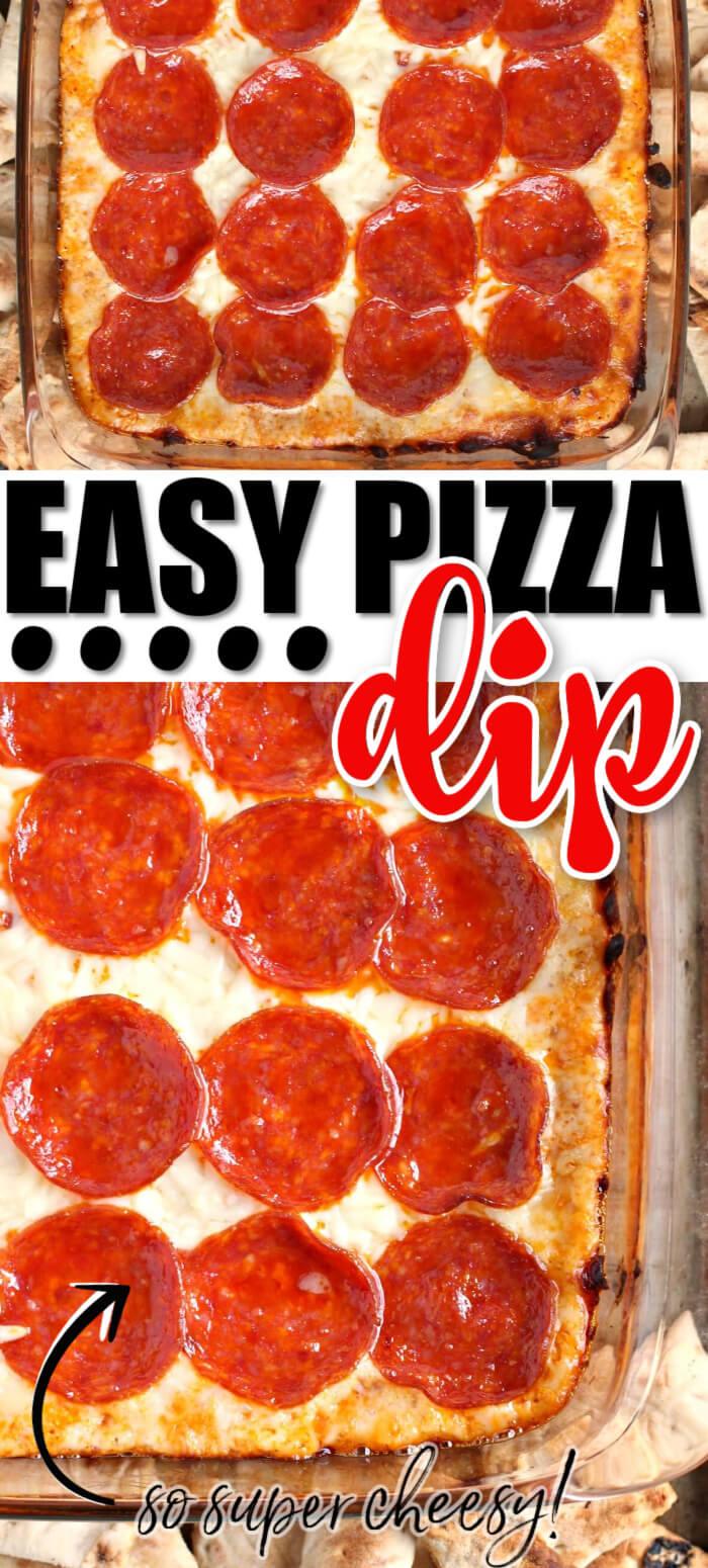 HOMEMADE PIZZA DIP