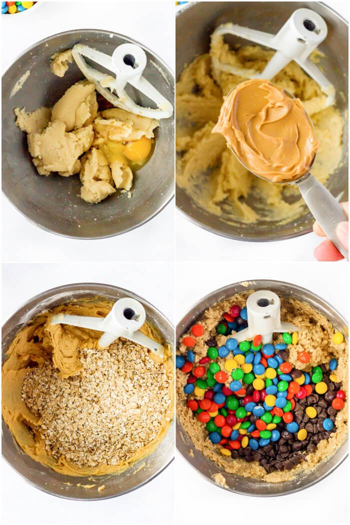 HOW DO YOU MAKE MONSTER COOKIE BARS