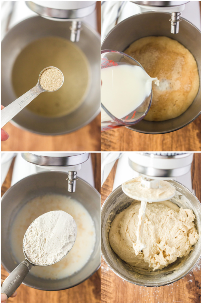 WHITE BREAD INGREDIENTS