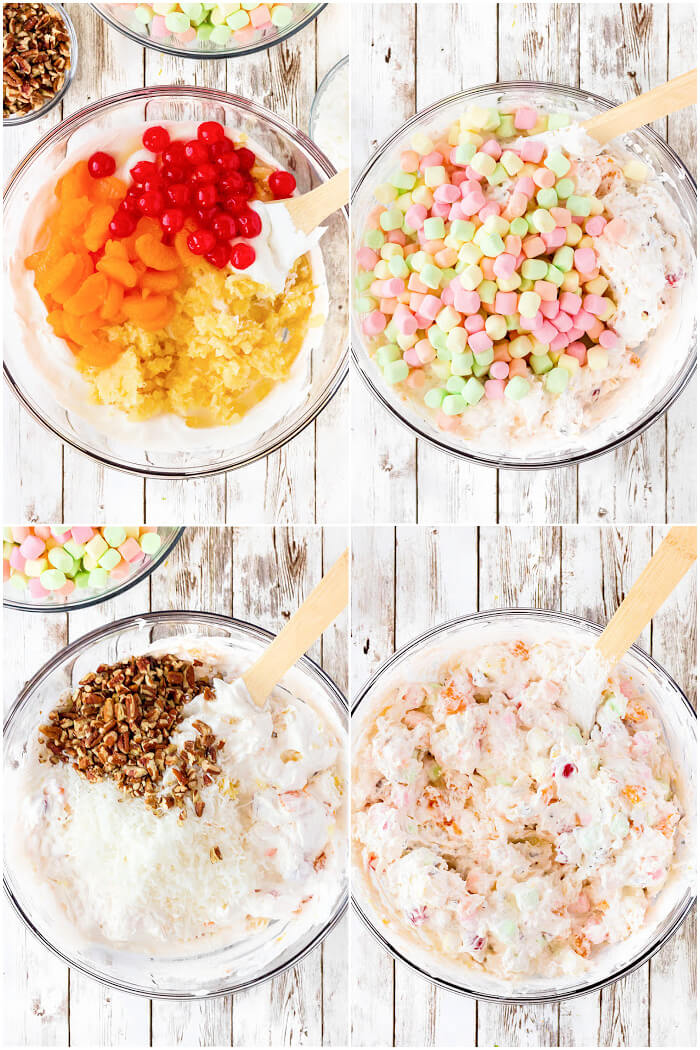HOW TO MAKE AMBROSIA SALAD