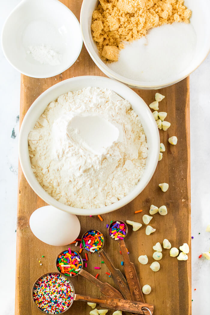 SPRINKLE COOKIE INGREDIENTS