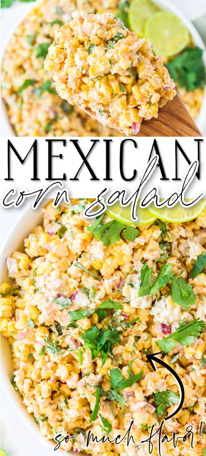 BEST MEXICAN CORN SALAD RECIPE