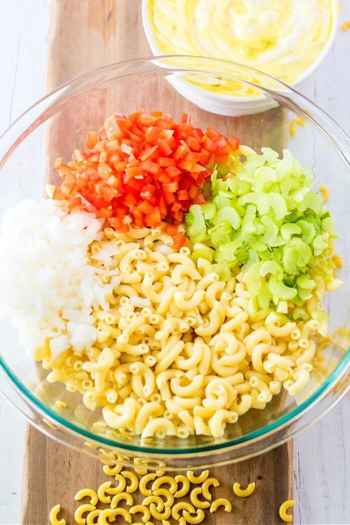 HOW TO MAKE AMISH MACARONI SALAD