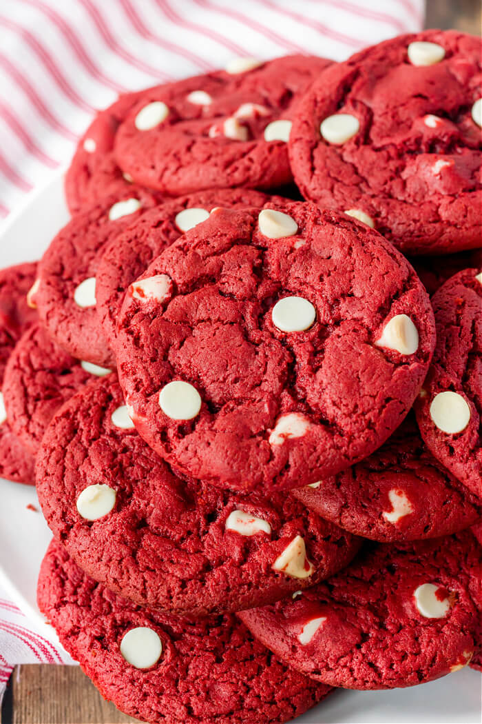 RECIPE FOR RED VELVET CAKE MIX COOKIES