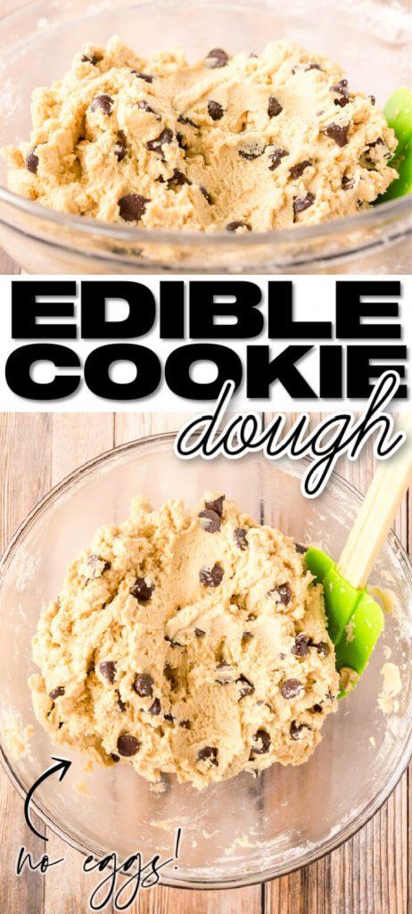 BEST EDIBLE COOKIE DOUGH RECIPE