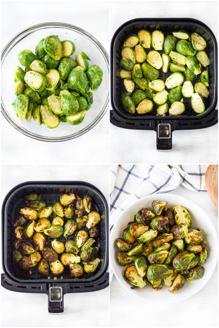HOW TO MAKE AIR FRYER BRUSSELS SPROUTS