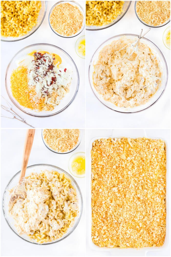 HOW TO MAKE CHICKEN BACON RANCH CASSEROLE