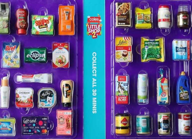Coles promise to no longer give away plastic collectible toys