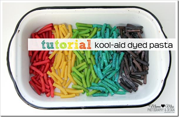 Kool-Aid Dyed Pasta