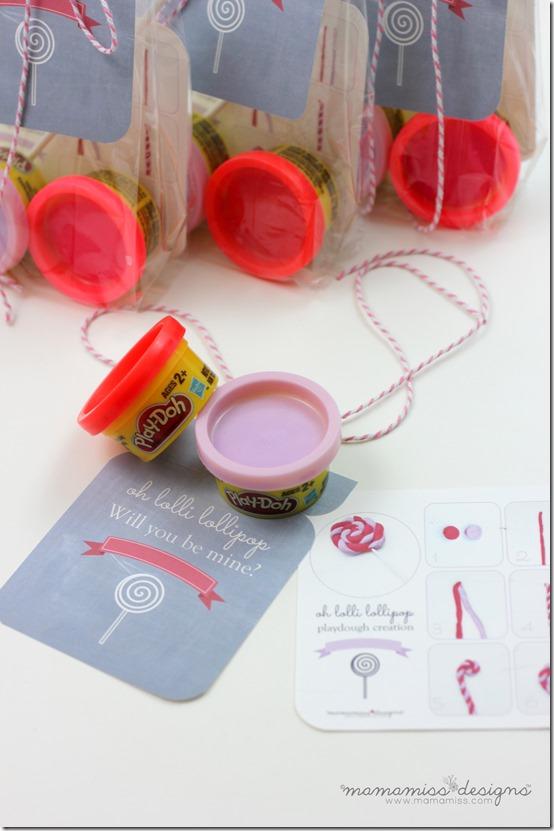 Playdough Creation Kit Valentine