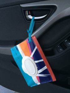 wipes en carro