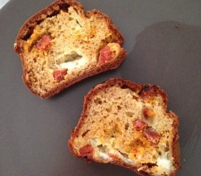 cake chorizo mozzarella