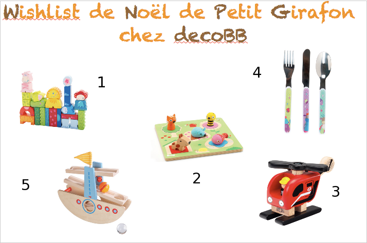 whishlist de noël chez decobb
