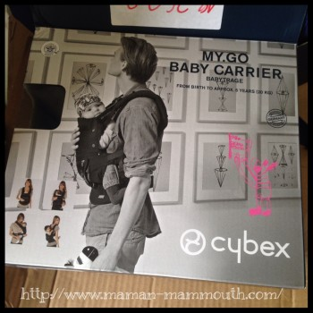 test porte b b cybex my go blog pro allaitement. Black Bedroom Furniture Sets. Home Design Ideas