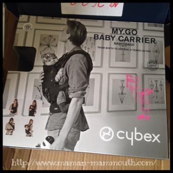 Test porte-bébé Cybex My Go