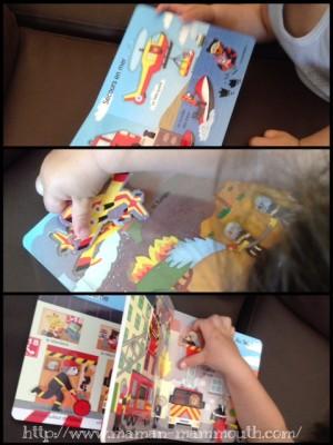 l'imagerie puzzle, les pompiers