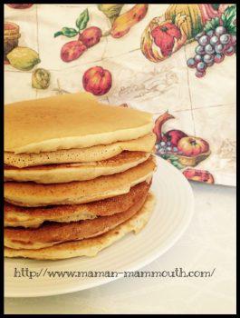 pancakes sans oeufs légers