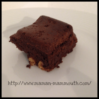 Brownie à IG bas