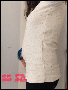 Jegging de grossesse, confort et féminité
