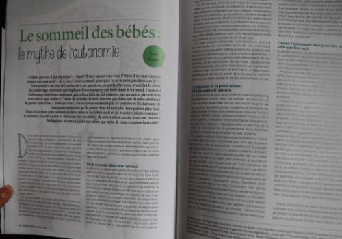 Magazine Grandir Autrement Hors Série DIY du maternage
