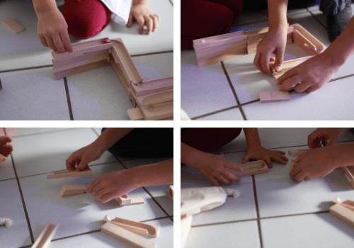 PLICO, le parcours de billes en bois made in France