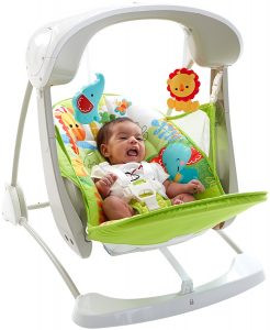 Fisher-Price Balancelle Compacte 2 en 1 2