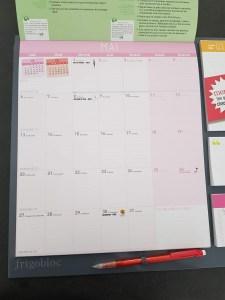 planning mensuel frigobloc