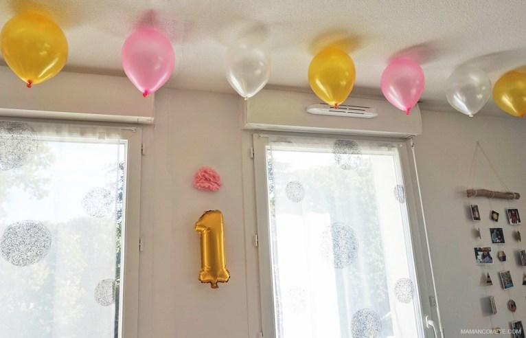 organisation-premier-anniversaire-bebe-gateau-licorne-ballon-lettres-deco-buffet-4